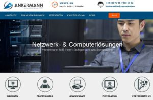 Ankermann Businessline geht Online